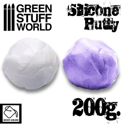 GREEN STUFF WORLD Violet Silicone Putty 200gm