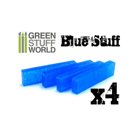 Image of GREEN STUFF WORLD Blue Stuff Molds (4 bars)