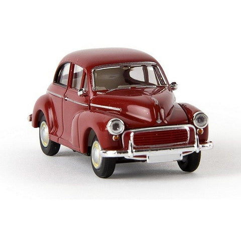 BREKINA AUTOMODELLE Morris Minor Ruby Red