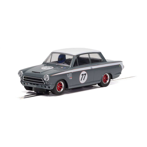 Image of SCALEXTRIC 1:32 Ford Lotus Cortina - JRT - Howard Donald/An