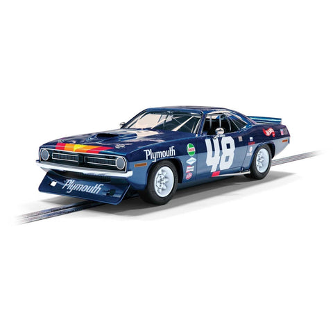 SCALEXTRIC Plymouth Barracuda - Trans Am 1970 - Dan Gurney