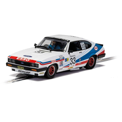 SCALEXTRIC Ford Capri MkIII - Spa 24 Hours 1981 - Woodman, B