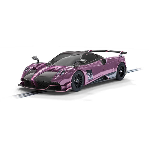 Image of SCALEXTRIC Pagani Huayra Roadster BC Drago Viola Edition
