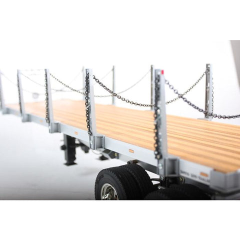 Image of TAMIYA Flatbed Semi-Trailer for 1/14 RC Truck