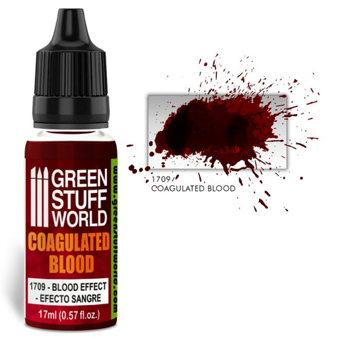 GREEN STUFF WORLD Blood effect paint - Coagulated Blood 17m