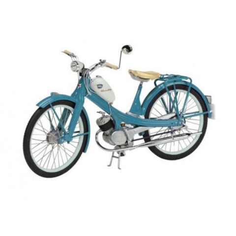 SCHUCO 1:10 Pushbike NSU Quickly Blue (Motorised) D45066260