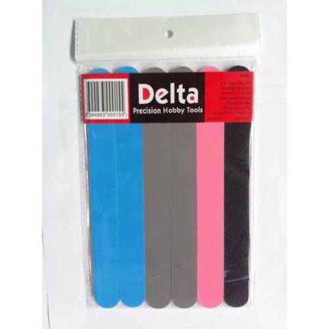 DELTA Flex Pads (6 pcs) - Assorted