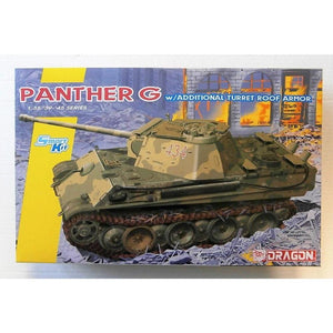 DRAGON 1/35 Panther Ausf.G Late Production w/add on Anti-Ai