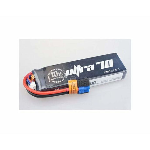Image of DUALSKY Ultra 70 LiPo Battery, 3300MAH 4S 70C