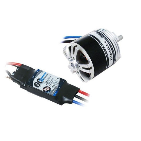 Image of Dualsky 50 Tuning Combo w/ 560kv motor & 80A ESC