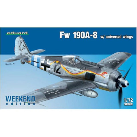 EDUARD Fw 190A-8 w/ universal wings1/72 Weekend edition (ED