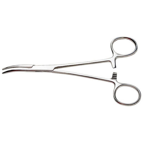 EXCEL 5in HEMOSTAT / CURVED NOSE