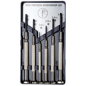 EXCEL 6 PIECE PRECISION SCREWDRIVER SET