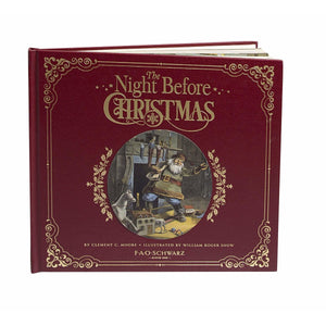 F.A.O SCHWARZ A Night Before Christmas Book