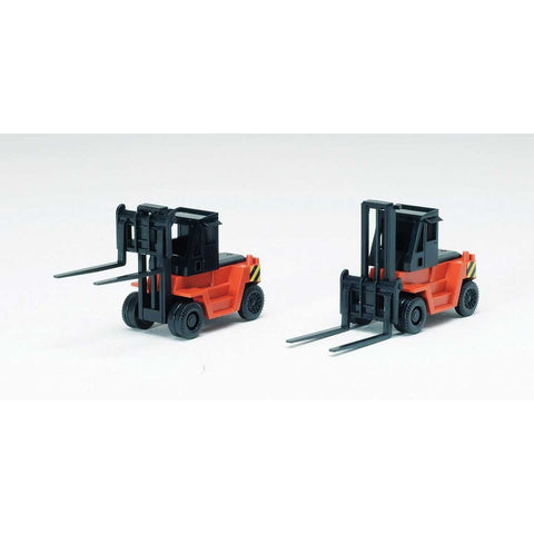 TOMYTEC N Forklift Orange/Black (2)