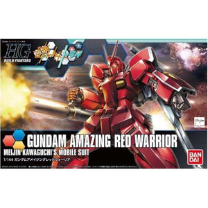 BANDAI 1/144 HGBF Gundam Amazing Red Warrior
