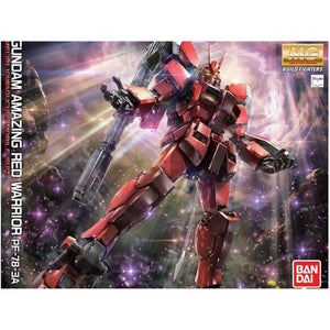 BANDAI 1/100 HG Gundam Aaazing Red Warrior