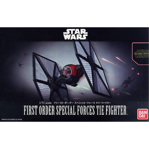 BANDAI1/72 FIRST ORDER SPECIAL FORCES TIE FIGHTER (G02032