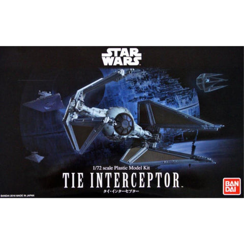 BANDAI Star Wars 1/72 TIE Interceptor