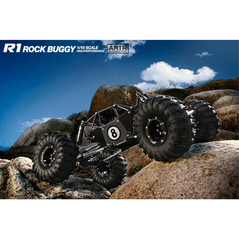 Gmade Crawler ARTR R1 Rock Buggy (Black ver) (GM51004)