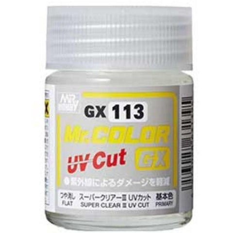 MR HOBBY Mr Color Super Clear UV Cut Flat (GN GX113)