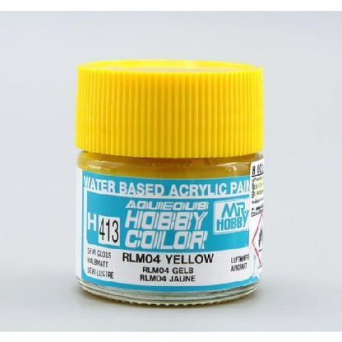 Image of MR HOBBY Aqueous RLM 04 Yellow - H413