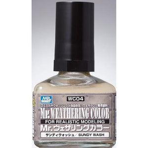 MR HOBBY Mr Weathering Color Sandy Wash