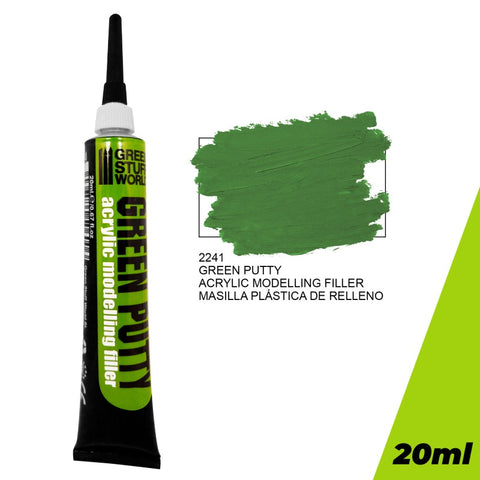 GREEN STUFF WORLD Acrylic Green Putty 20ml