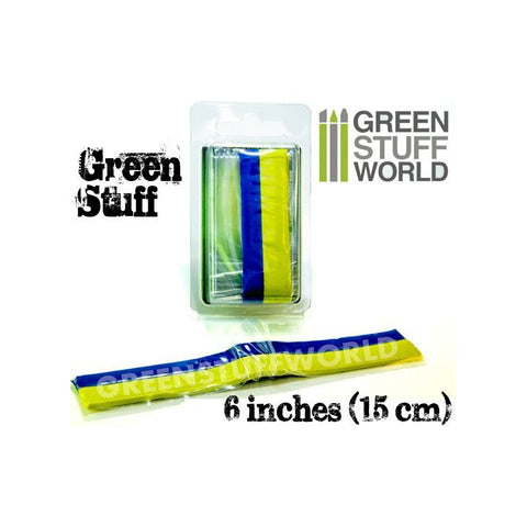 Image of GREEN STUFF WORLD Green Stuff Tape 6 inches (15cm)