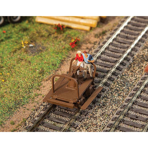 WALTHERS SCENEMASTER HO scale Handcars Kit pkg/2