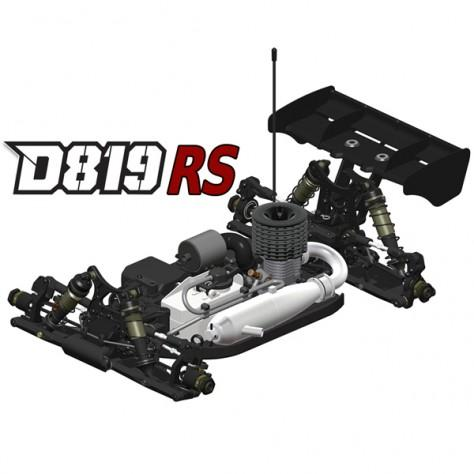 HB Racing D819 RS 1/8 Competition Buggy (HB204580)