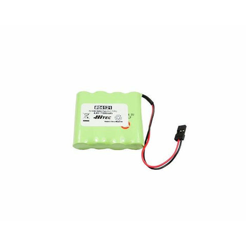 HITEC Receiver NiMH Battery Pack 4.8V. 1300mAh