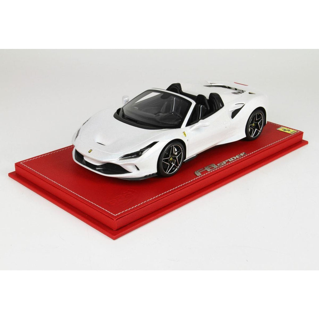 Bbr 1 18 Ferrari F8 Spider White The Hobbyman By Hearns The Hobbyman Narre Warren Australia