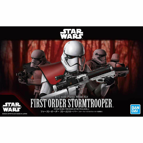 BANDAI 1/12 STAR WARS FIRST ORDER STORMTROOPER (SW EP 9)