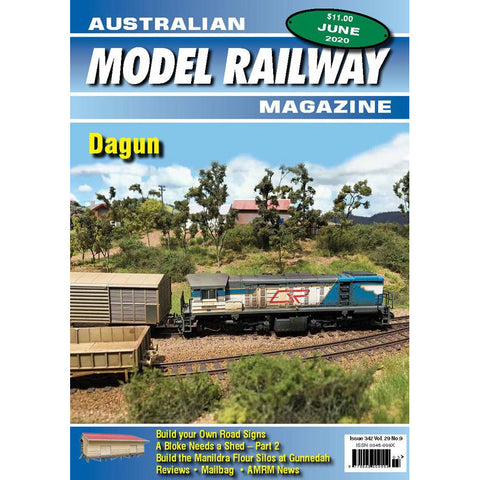 AMRM Australian Model Railway Magazine JUNE 2020 Issue #342