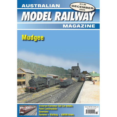 AMRM Australian Model Railway Magazine DEC 2020 Issue #345