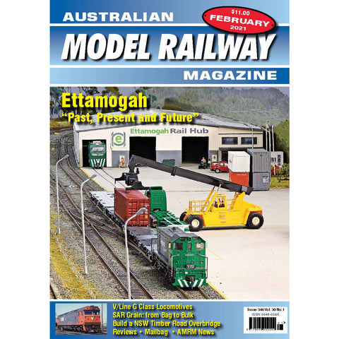 AMRM Australian Model Railway Magazine FEB 2021 Issue #346