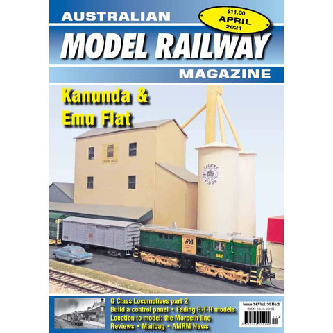AMRM Australian Model Railway Magazine April 2021 Issue #346