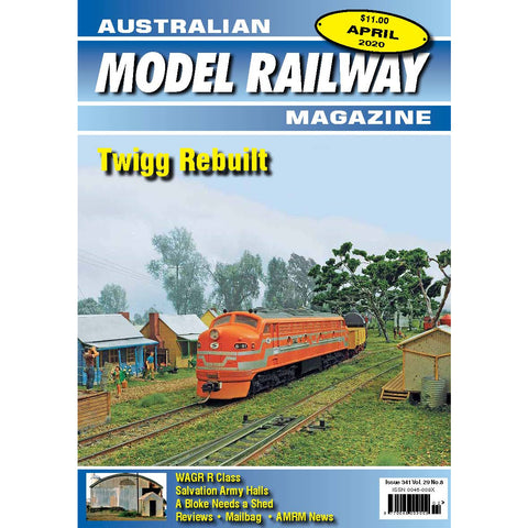 Australian Model Railway Magazine April 2020 Issue #341