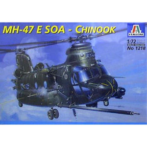ITALERI 1/72 MH-47 E Soa Chinook Tm Plastic Model Kit