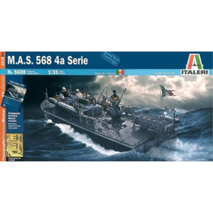 ITALERI 1/35 M.A.S. 568 4A Series Plastic Model Kit