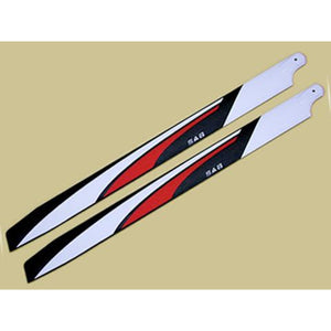 SAB Red Devil Blades 700X63mm 3D