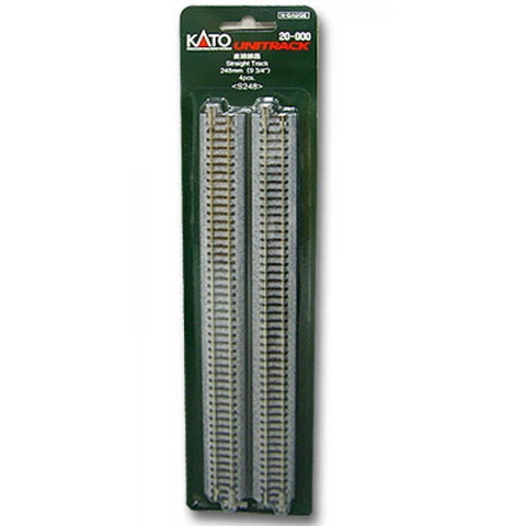 KATO Unitrack Straight 248mm 4Pk