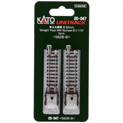KATO N Unitrack Bumper 62mm TYPE B-2