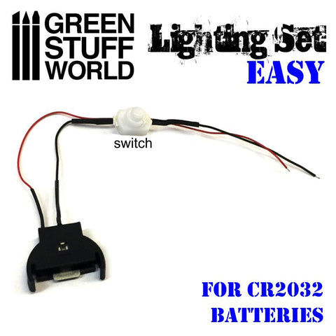 GREEN STUFF WORLD LED Lighting Kit with Switch