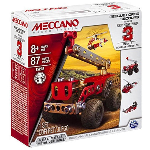 MECCANO 3 Model Set Rescue Squad