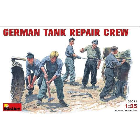 MINIART German Tank RepairCrew