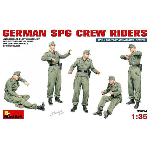 MINIART German SPG Crew Riders
