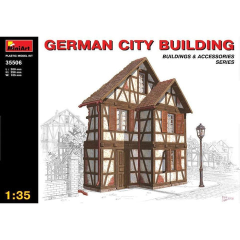 MINIART 1/35 German City Building