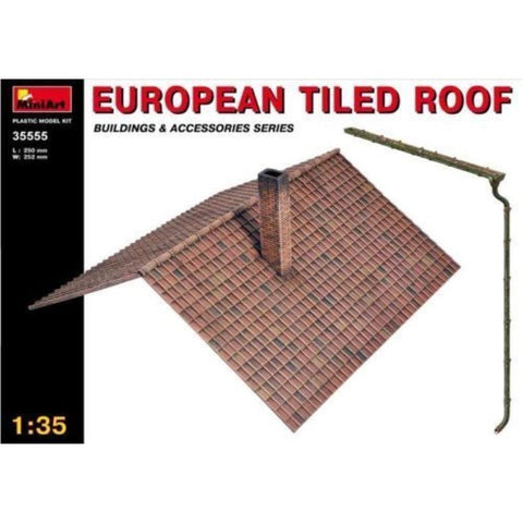 MINIART 1/35 European Tiled Roof